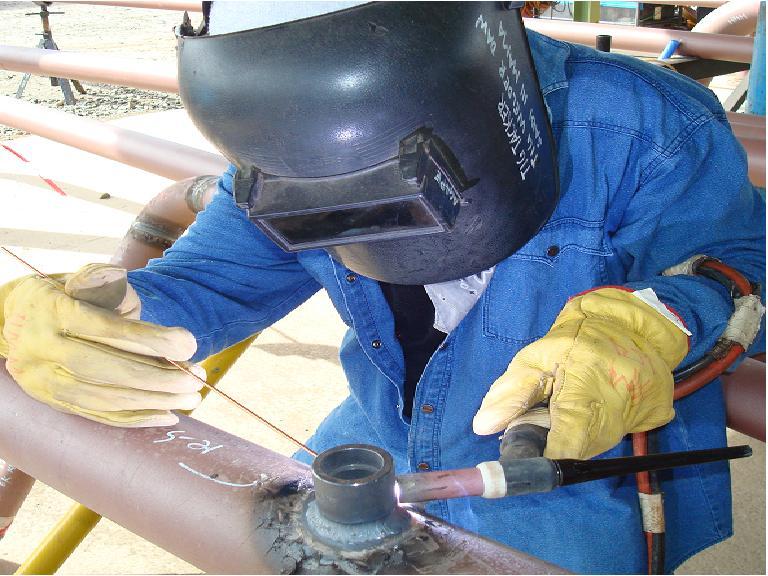 G welding position on pipe heats school of
