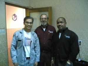 Engr. Jose with NACE International Instructors