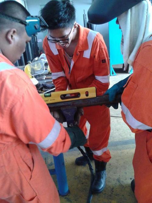 Pipe fitting and Alignment - Overseas Training